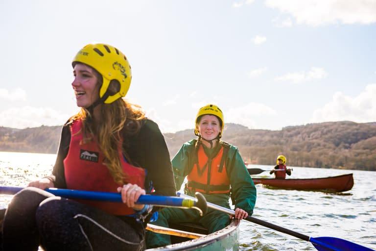 Scouts Kayaking