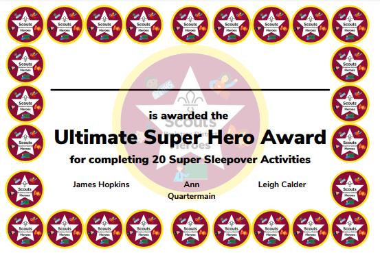 Ultimate Superhero Award
