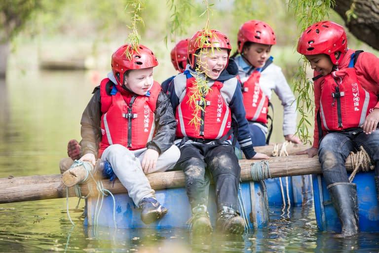 Cubs raft