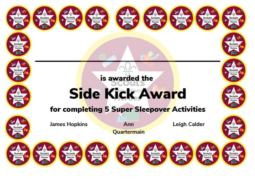 Side Kick Award